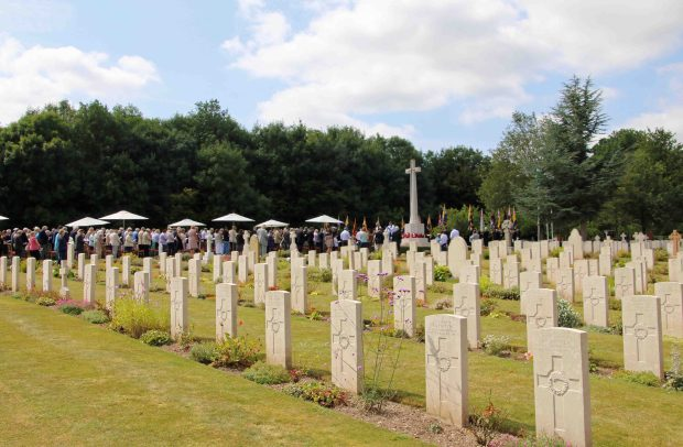 Tidworth Military Cemetery 30th July 2014