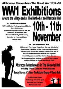 WW1 Exhibitions