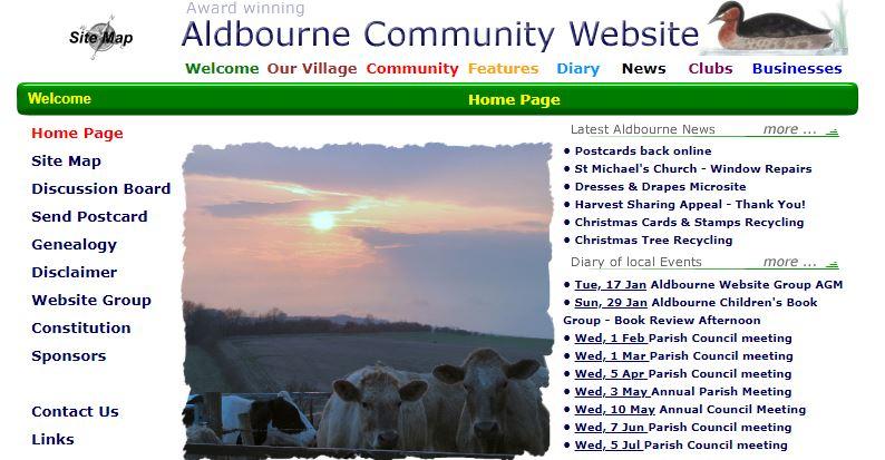 aldbourne org wayback machine january 2006