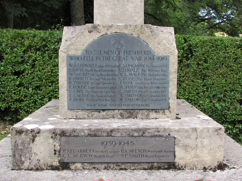 Freshford War Memorial by Michael Day